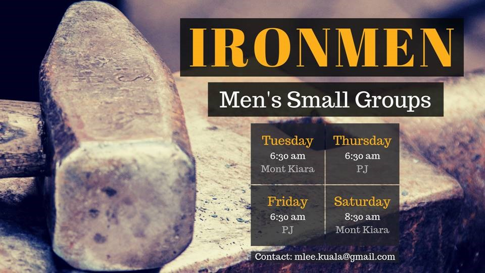 Ironmen – Men's Bible Study