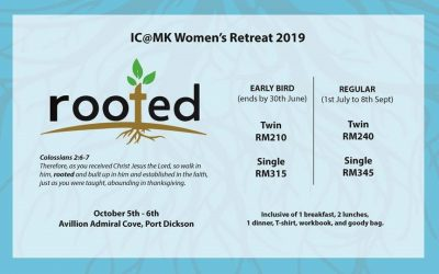 Women's Retreat-Oct 5-6 2019