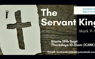 Women's Bible Study – The Servant King – Starting September 19