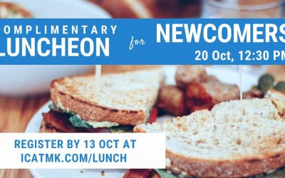 Newcomers' Luncheon – 20 October