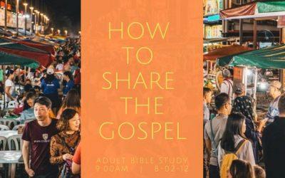 Adult Bible Study – starting 3 November