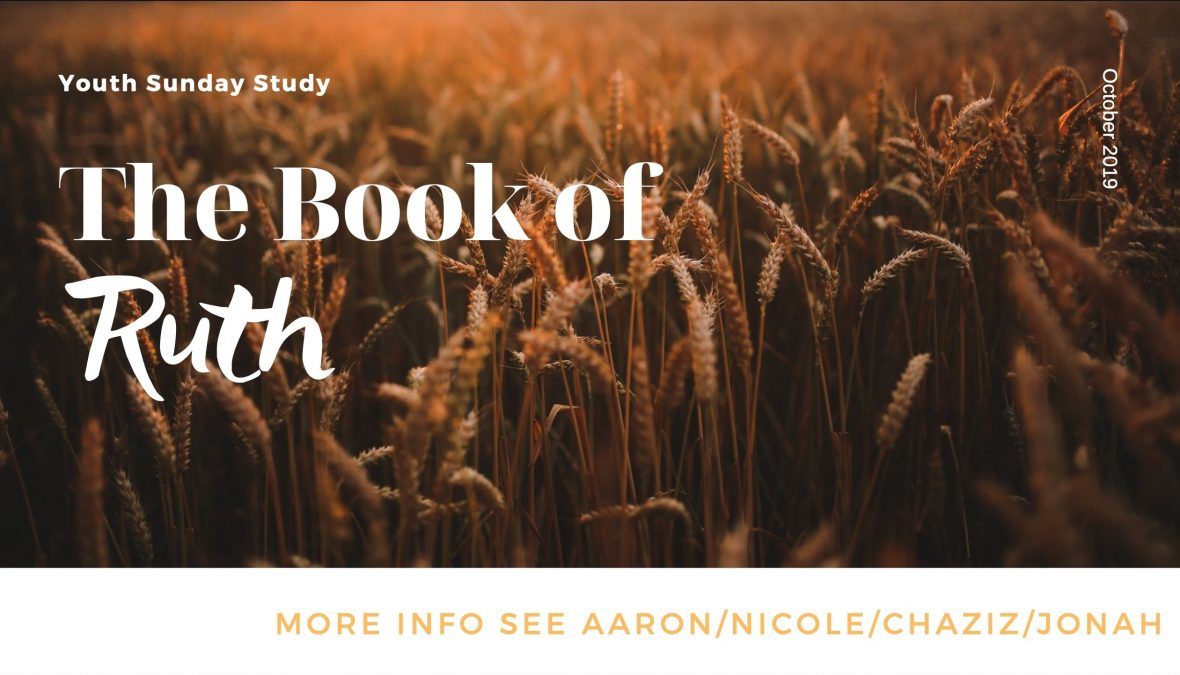 Sunday Youth Study – every Sunday at 9am