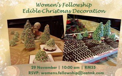 November Women's Fellowship – 29 Nov