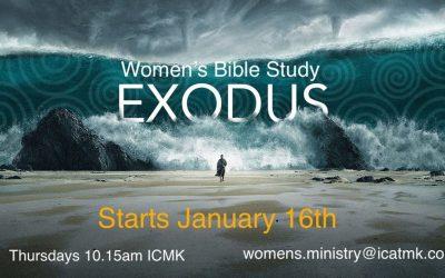 Women's Bible Study – starting 16 Jan