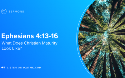 What Does Christian Maturity Look Like?