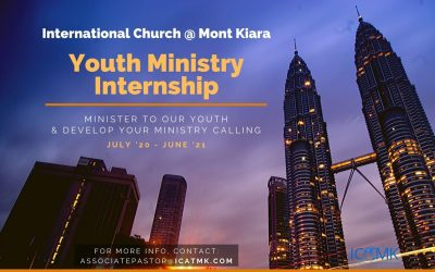 Youth Internship – July 2020-June 2021