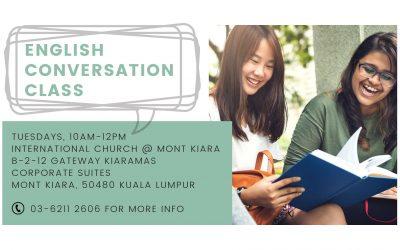 English Conversation Class (ECC) – Tuesday mornings