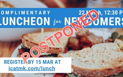 Newcomers Luncheon – POSTPONED