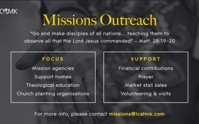 Missions Ministry – Are you interested in serving?