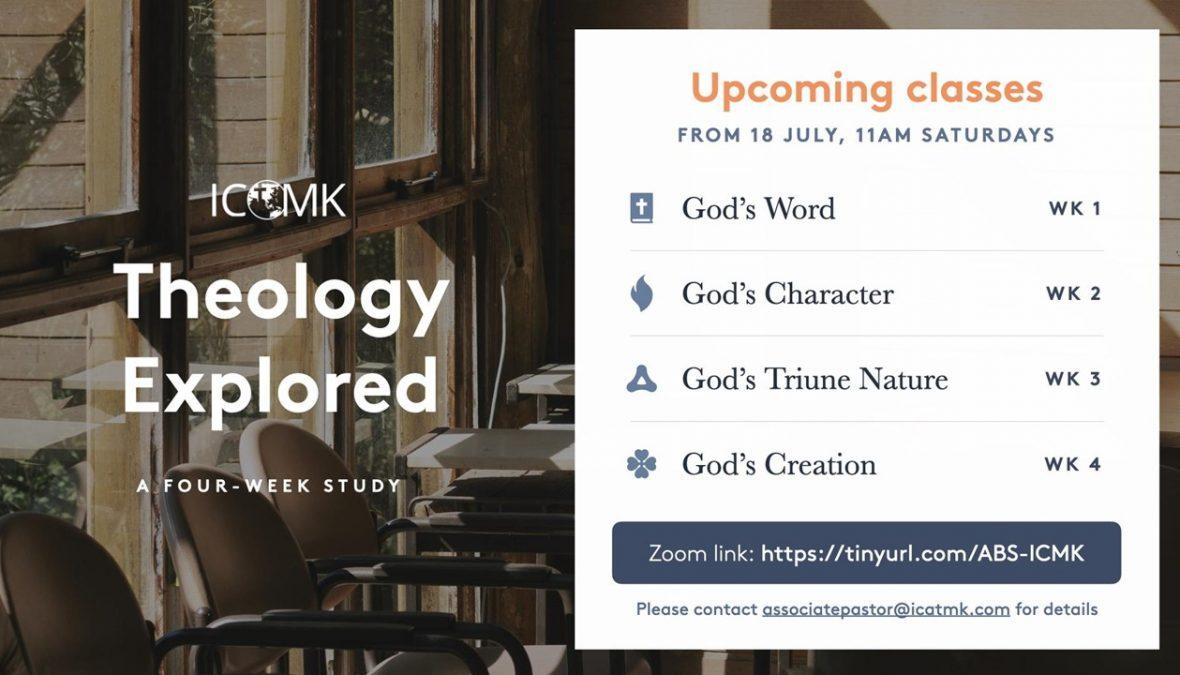 Adult Bible Study – Saturdays at 11am via Zoom