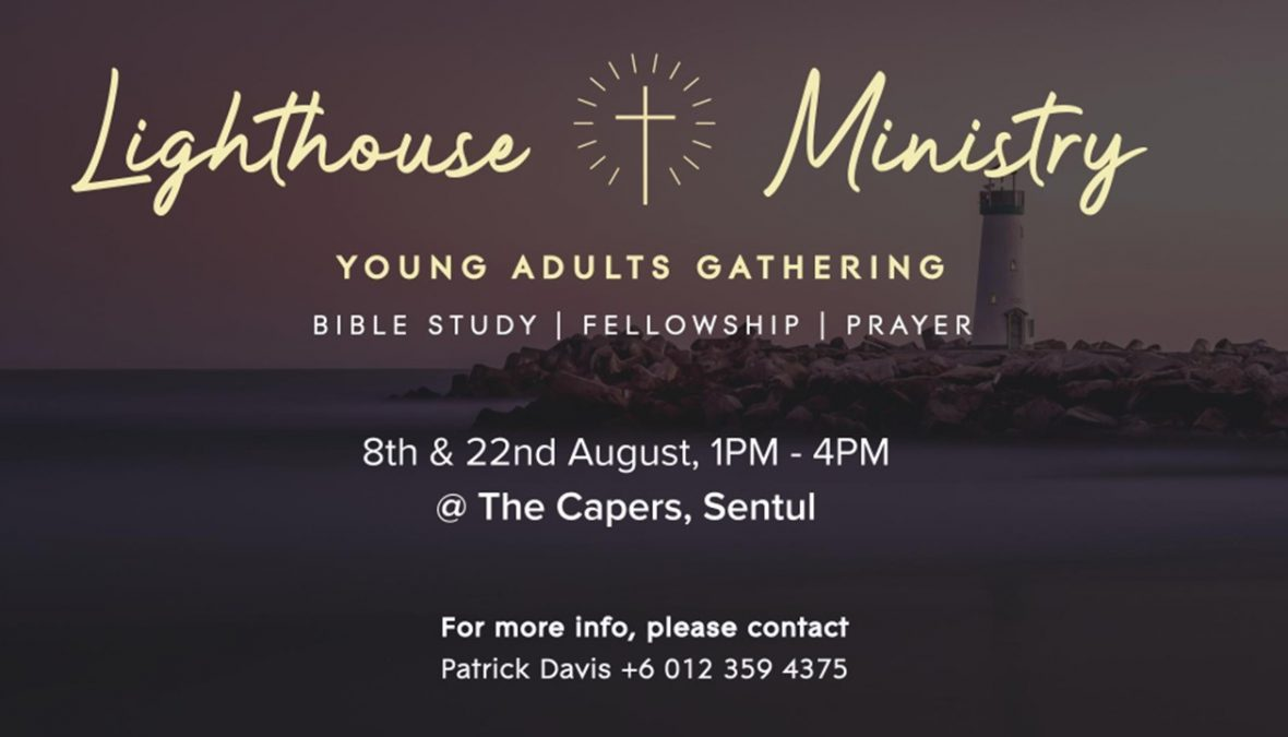 Young Adult Gatherings – 8th and 22nd August