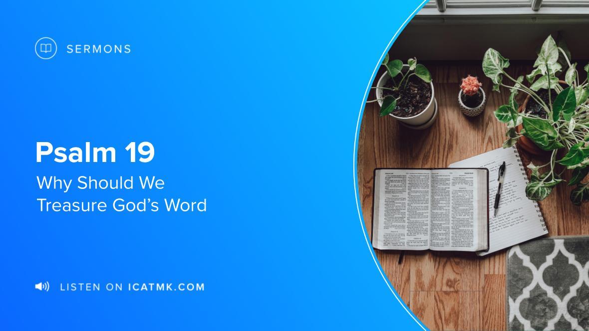 Why Should We Treasure God's Word