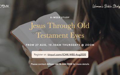 Women's Bible Study – starting 27th Aug via Zoom