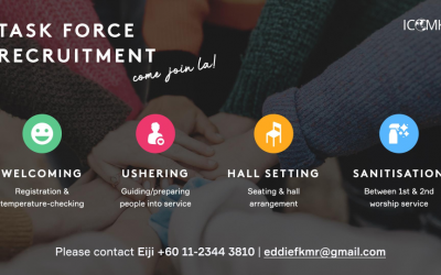 Task Force Recruitment – contact Eiji to serve