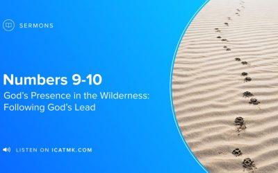 Following God's Lead