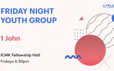 Friday Youth Group – Fridays 6:30-9:00 in the Fellowship Hall
