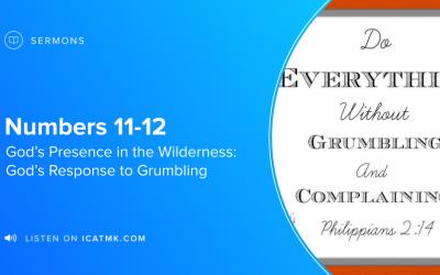 God's Response to Grumbling