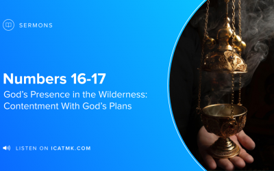 Incense and Almonds: Contentment With God's Plans