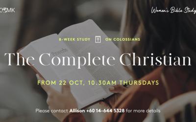Women's Bible Study – starting 22nd Oct via Zoom