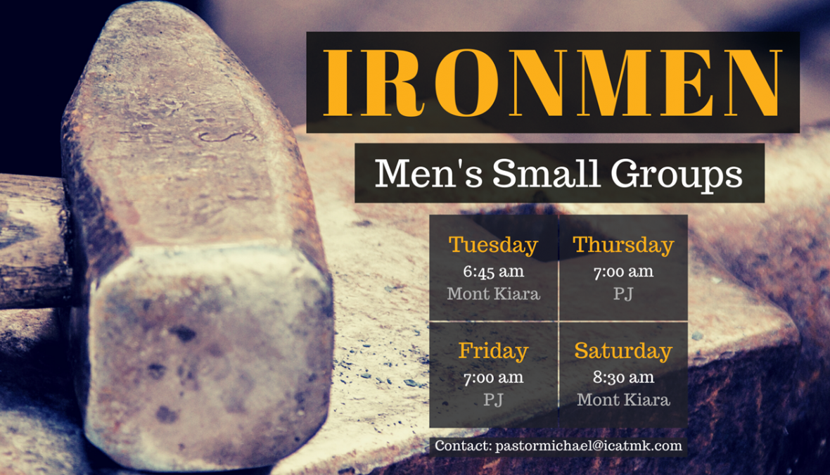 Ironmen – Men's Bible Study
