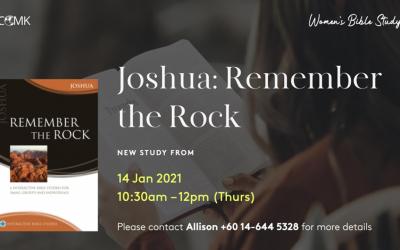 Women's Bible Study – starting 14 Jan, via Zoom