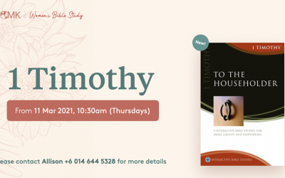Women's Bible Study – Thursdays at 10:30am, starting 11 March
