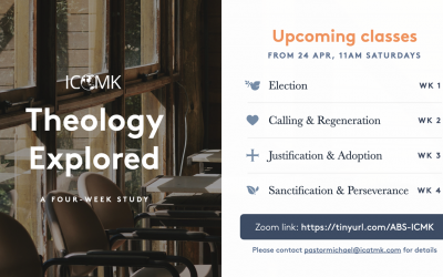 Theology Explored – Saturdays at 11am, starting 24 April, via Zoom