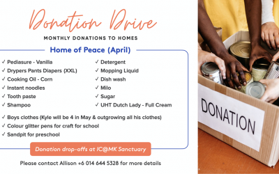 Home of Peace Donation Drive