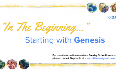 Children's Sunday School – new series starting soon