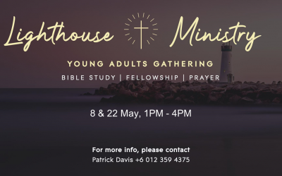 Young Adult Gatherings – 8 & 22 May
