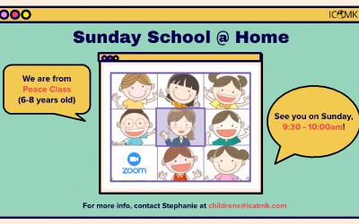 Peace Class online – Sundays at 9:30am, via Zoom