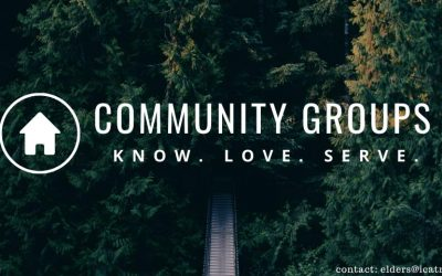 Community Groups – contact the elders for more info