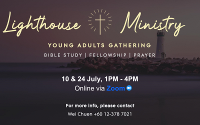 Young Adult Gatherings – 10 and 24 July, via Zoom