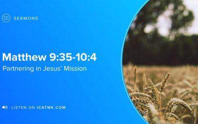 Partnering in Jesus' Mission